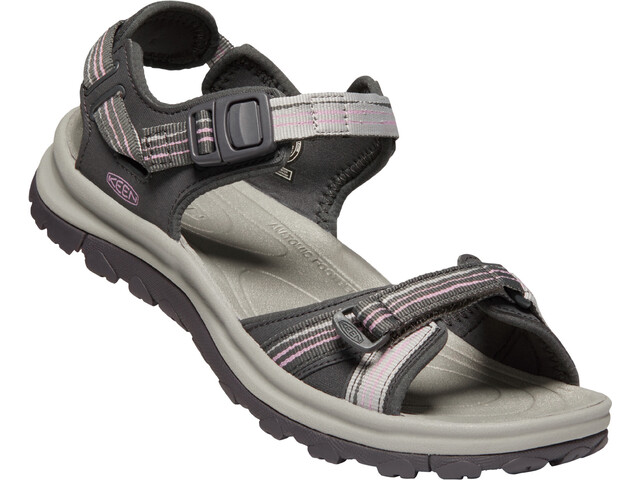Keen Terradora II Open Toe Sandals Women dark grey/dawn pink